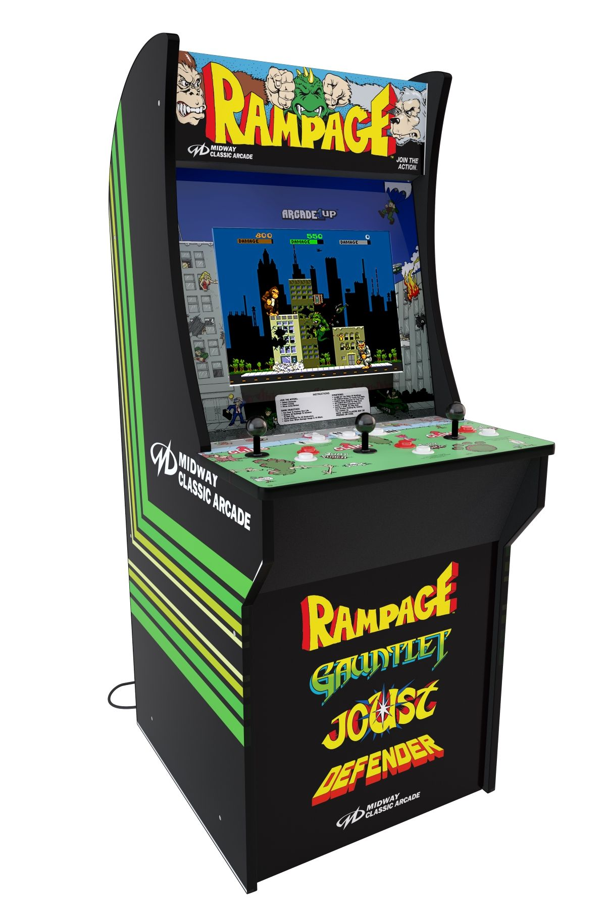 You Can Buy An Arcade1up Retro Arcade Cabinet For Less Than The Cost Of A Nintendo Switch At Walmart Gamesradar