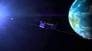 NASA's Magnetospheric Multisphere mission satellite