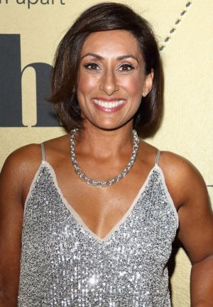 Tv presenter Saira Khan