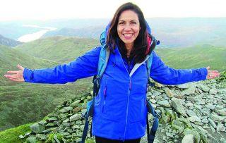 Julia Bradbury - 'Walking is great for mental well-being'
