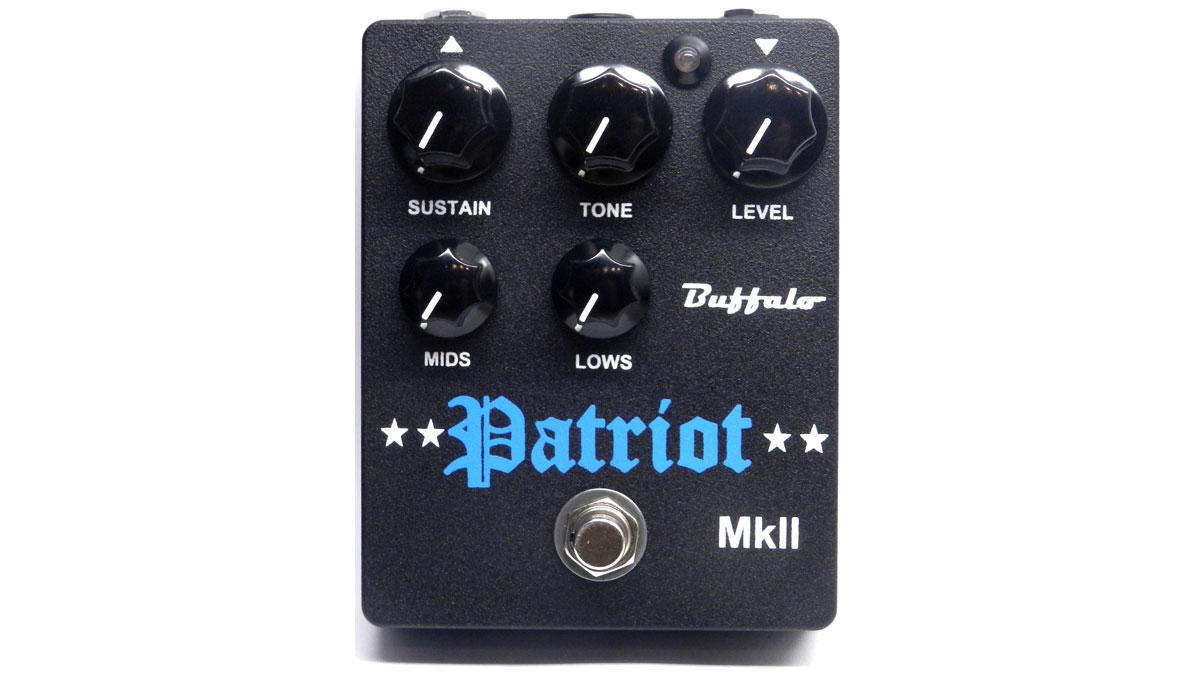 Buffalo FX unveils Patriot MkII fuzz pedal