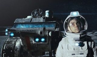 Moon Sam Rockwell Sam Bell looks out at the stars on the moon
