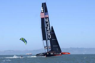 oracle racing yacht