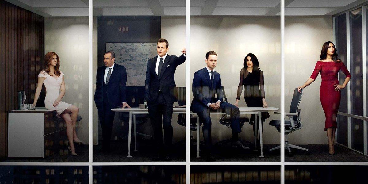 Suits Original Cast on USA