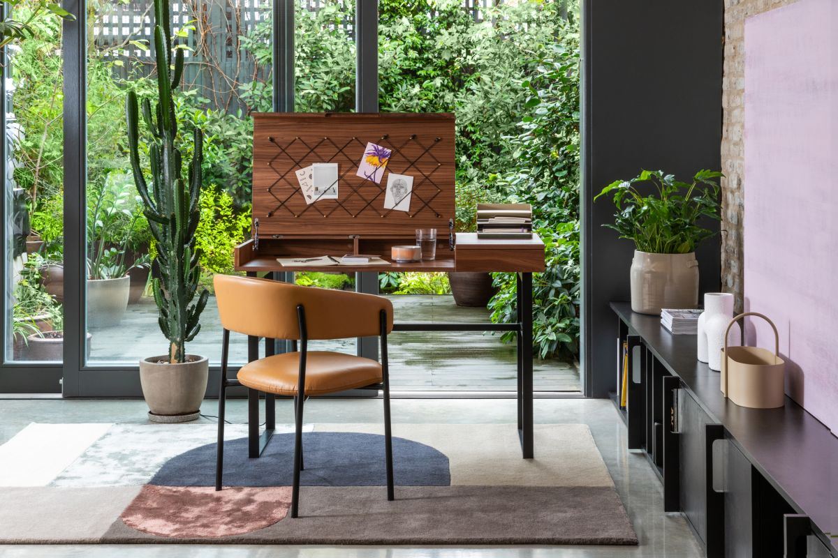 5 tips from interior designer Chris Barrett – for making your home office a happy place that inspires productivity