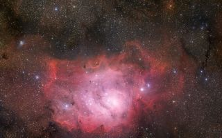 Starscape of the Lagoon Nebula