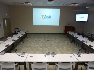 TS Tech Americas Deploys a 32-Seat Audio-Technica ATUC-50 Digital Discussion System
