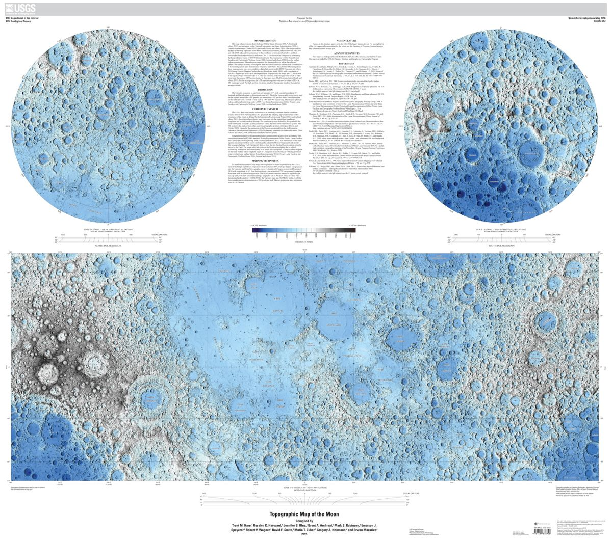 Explore the Moon (Virtually) with These Awesome Global Maps ...