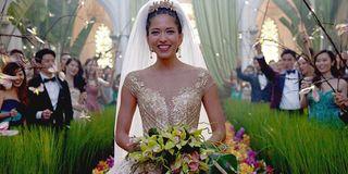 Crazy Rich Asians' Beautiful wedding scene on the big screen