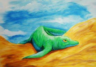 Oldest icthyosaur creature