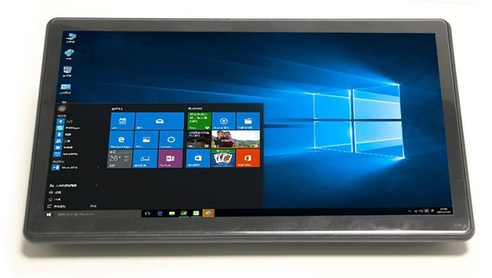 This Windows tablet has no battery, but businesses will still buy it