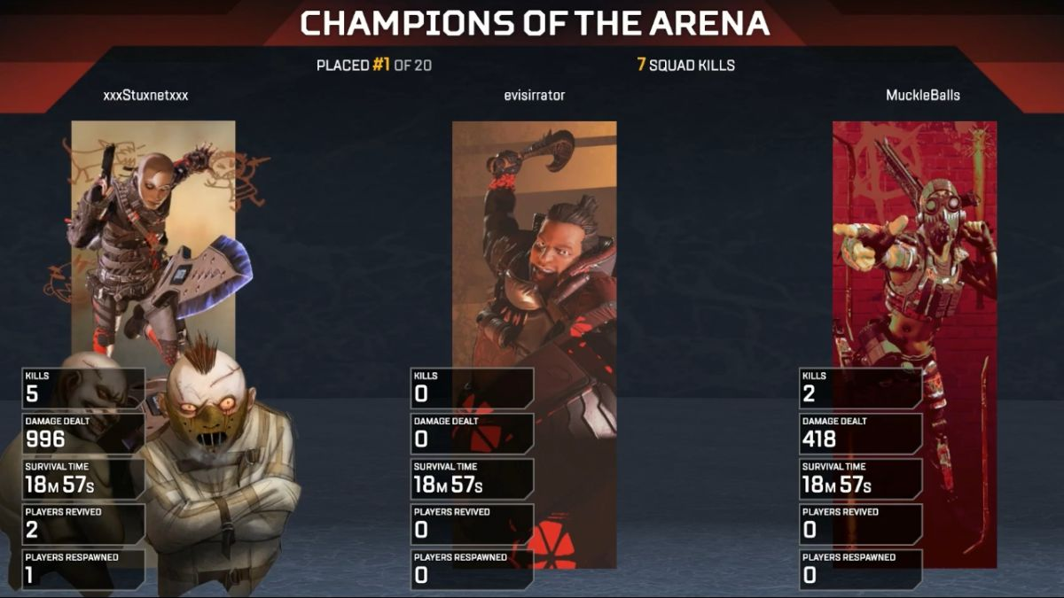 Never give up: these Apex Legends players literally carried