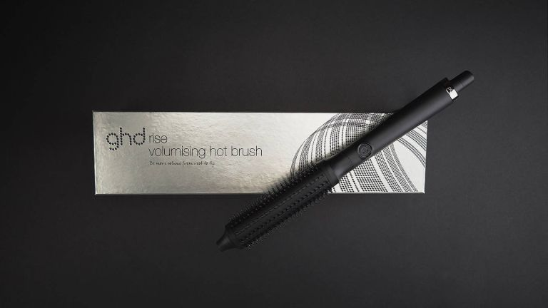 GHD Rise Hot Brush with box