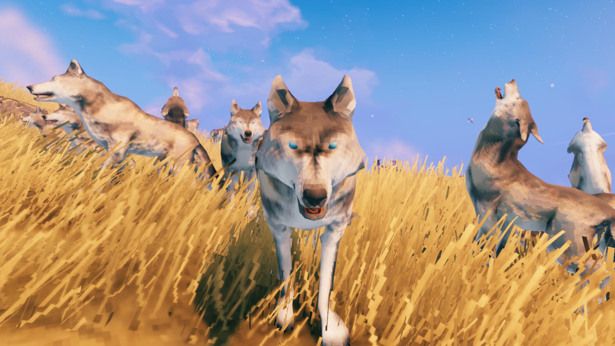 Valheim mod lets you punch wolves