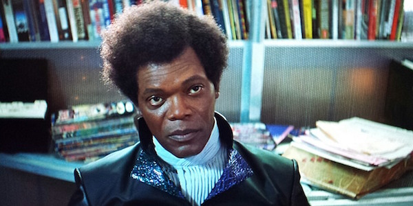 Samuel L. Jackson as Mr. Glass in Unbreakable