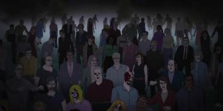 Zombies in the Night of the Animated Dead trailer