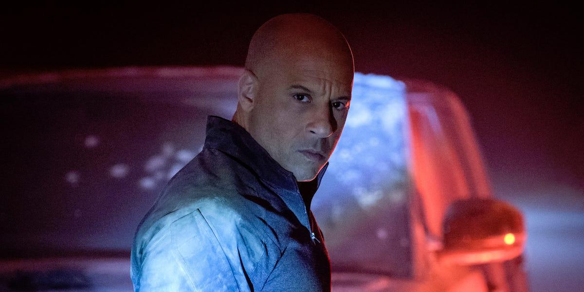 Vin Diesel in Bloodshot