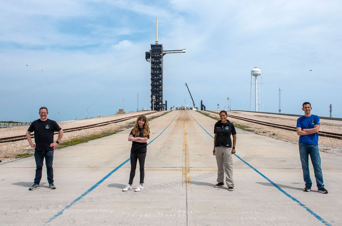 SpaceX's private Inspiration4 mission is 'go' for launch on Sept. 15 - Space.com