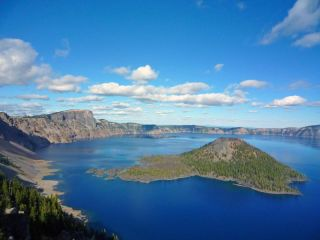 Crater Lake: Deepest Lake in U S  | Live Science
