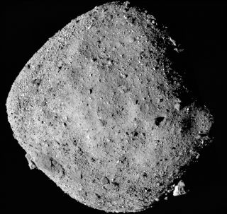 OSIRIS-REx View of Asteroid Bennu