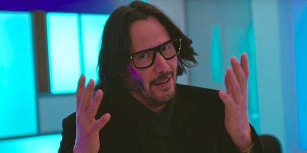 Keanu Reeves Always Be My Maybe fake glasses