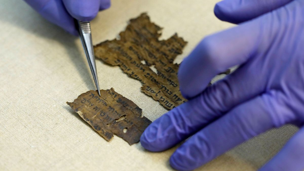 Medieval Hebrew document could reveal why Dead Sea Scrolls were found in Qumran
