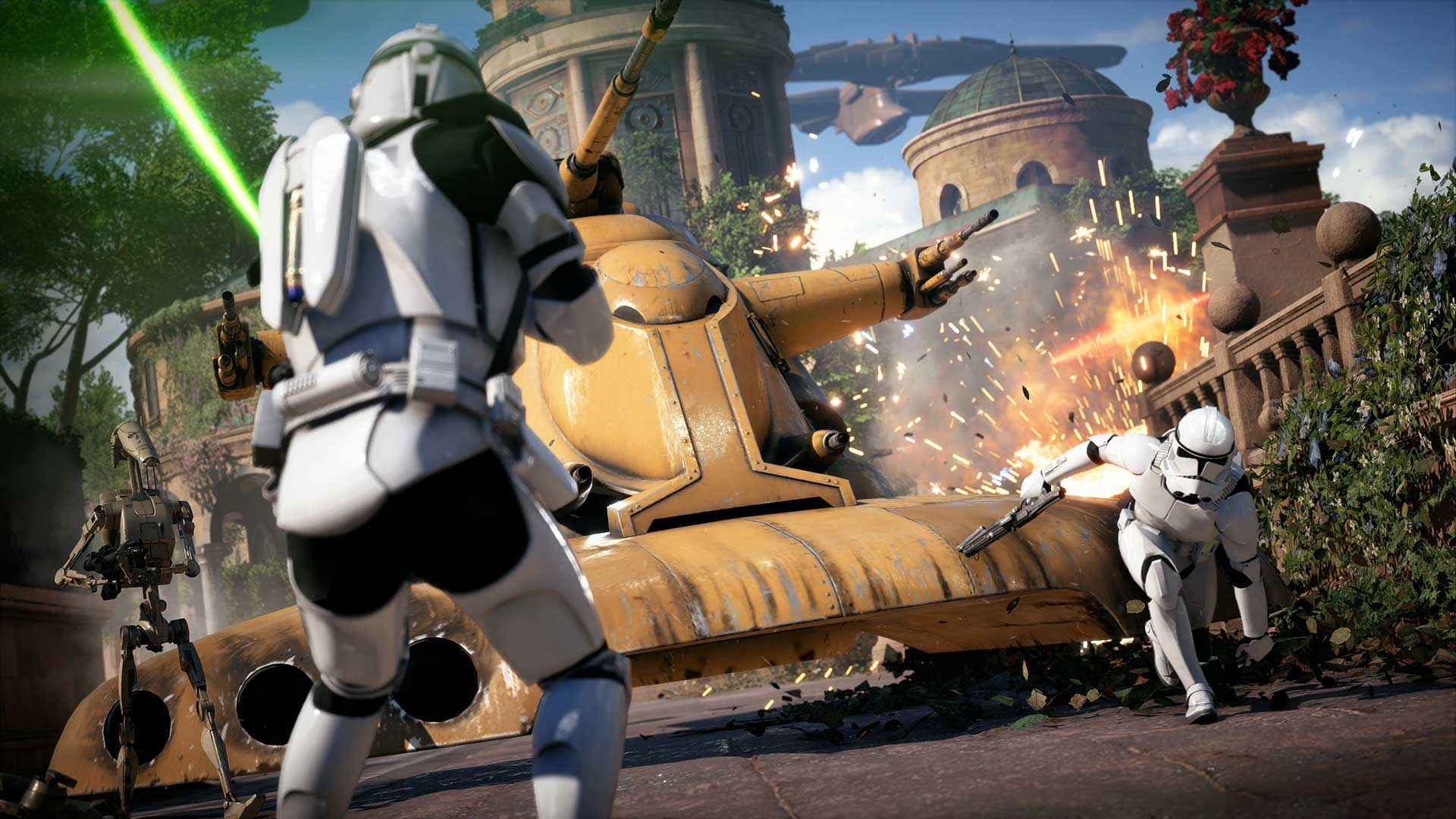 The Star Wars Battlefront 2 beta is now open to all