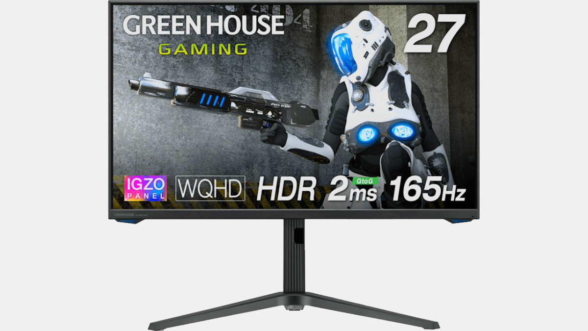 Japanese Company Launches Gaming Monitor With IGZO Technology