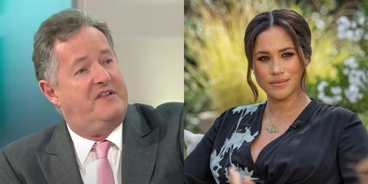 Piers Morgan and Meghan Markle are no longer friends after she dropped him.
