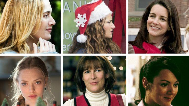 The Holiday, Bad Moms Christmas, Christmas with the Coopers, Christmas with the Kranks, New Years Eve, Love Actually