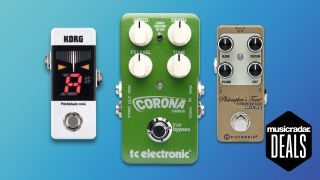 Save up to 50% on select pedals from Boss, TC Electronic, Digitech, Pigtronix, and more at Musician's Friend