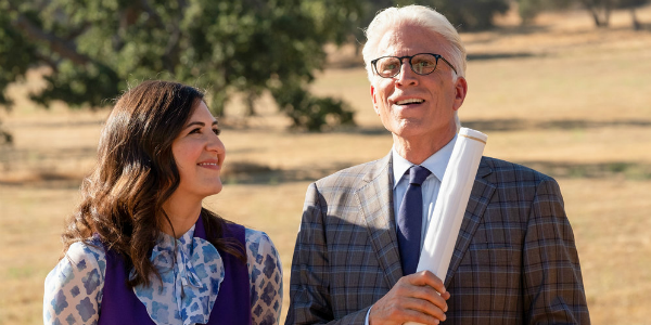The Good Place D'Arcy Carden Janet Ted Danson Michael NBC