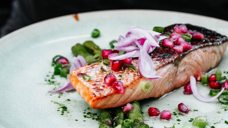 How to lose weight using keto: Salmon