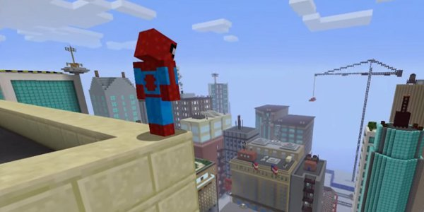 Minecraft Xbox Edition Adds Marvel SpiderMan Skin Pack - Skins para minecraft pe de spiderman
