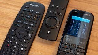 Logitech Harmony Companion and. Harmony Elite, and Amazon Alexa Voice Remote