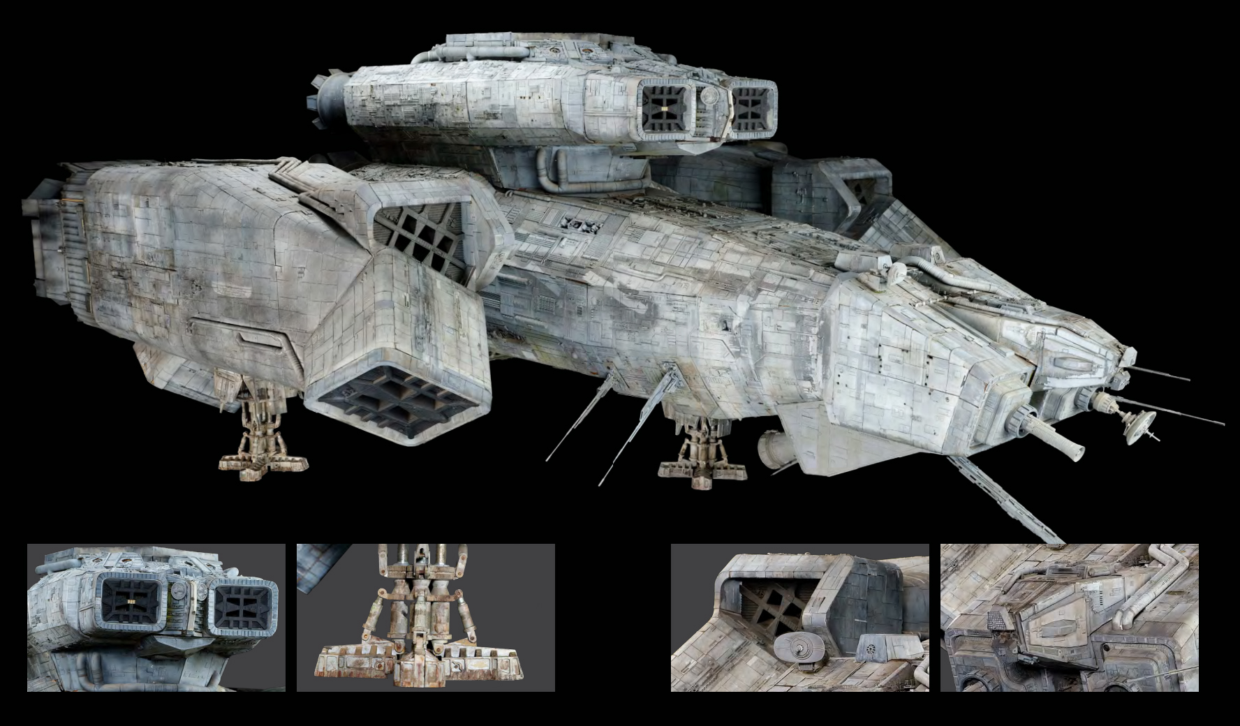 The original Nostromo model from Alien looks great and could be yours for a mere $300K