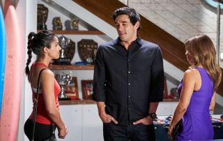 Home and Away, Willow Harris, Justin Morgan, Leah Patterson