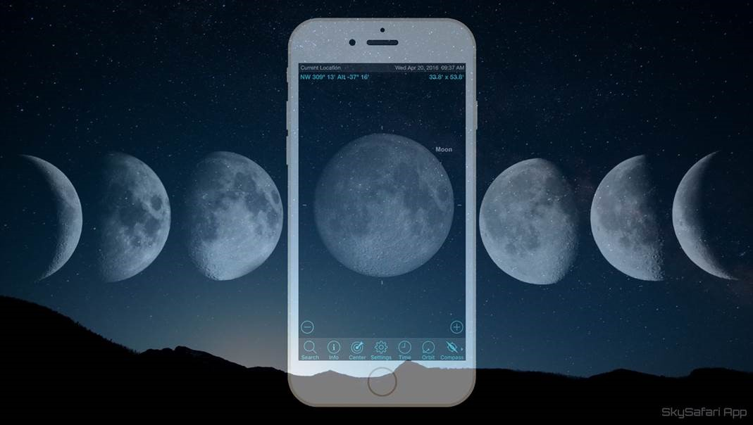 add a moon with your child/'s name to the mobile Mobile Name Add-on