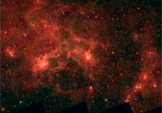 dragonfish star cluster milky way