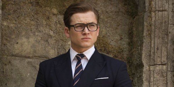 Eggsy in The Golden Cricle