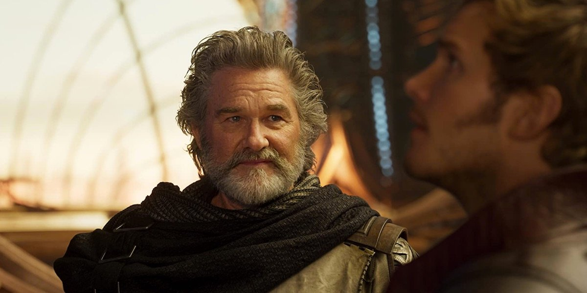 Ego in Guardians 2