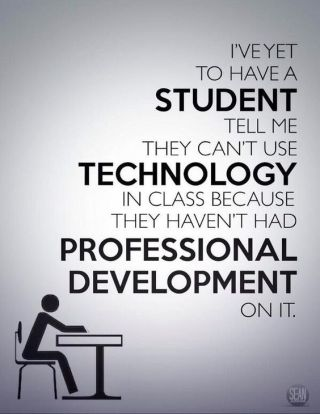Do We Need to Teach Students to Use Technology?