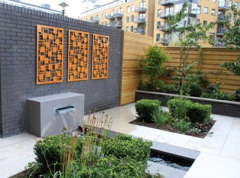 Garden Wall Ideas 21 Stunning Looks, Garage Wall Ideas Outside