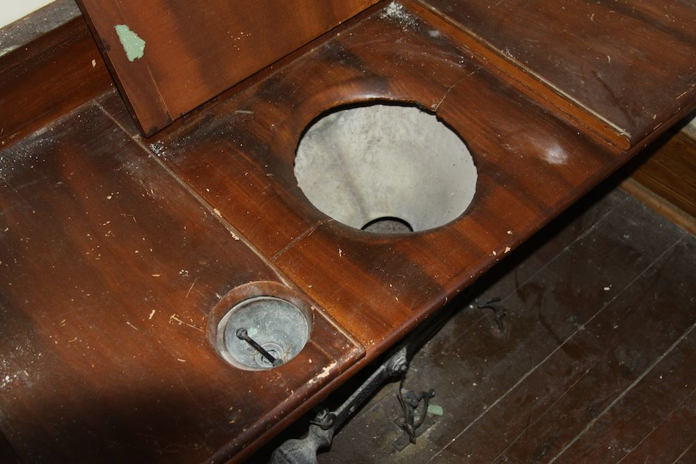 Flushed With Pride 1850s Bathroom Boasts Early Plumbing Technology Live Science