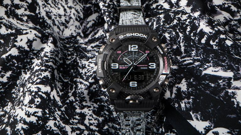 New G-Shock X Burton Mudmaster gets unique snow-covered design