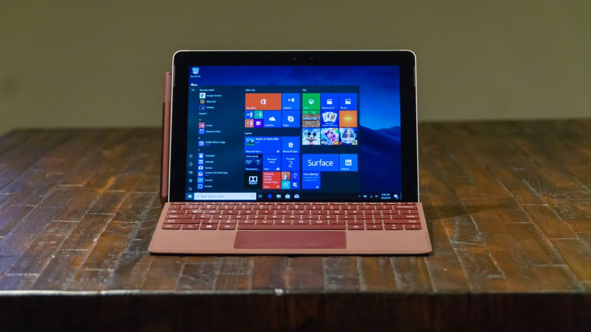 Car Battery Life >> Microsoft Surface Go review: the littlest Surface | TechRadar