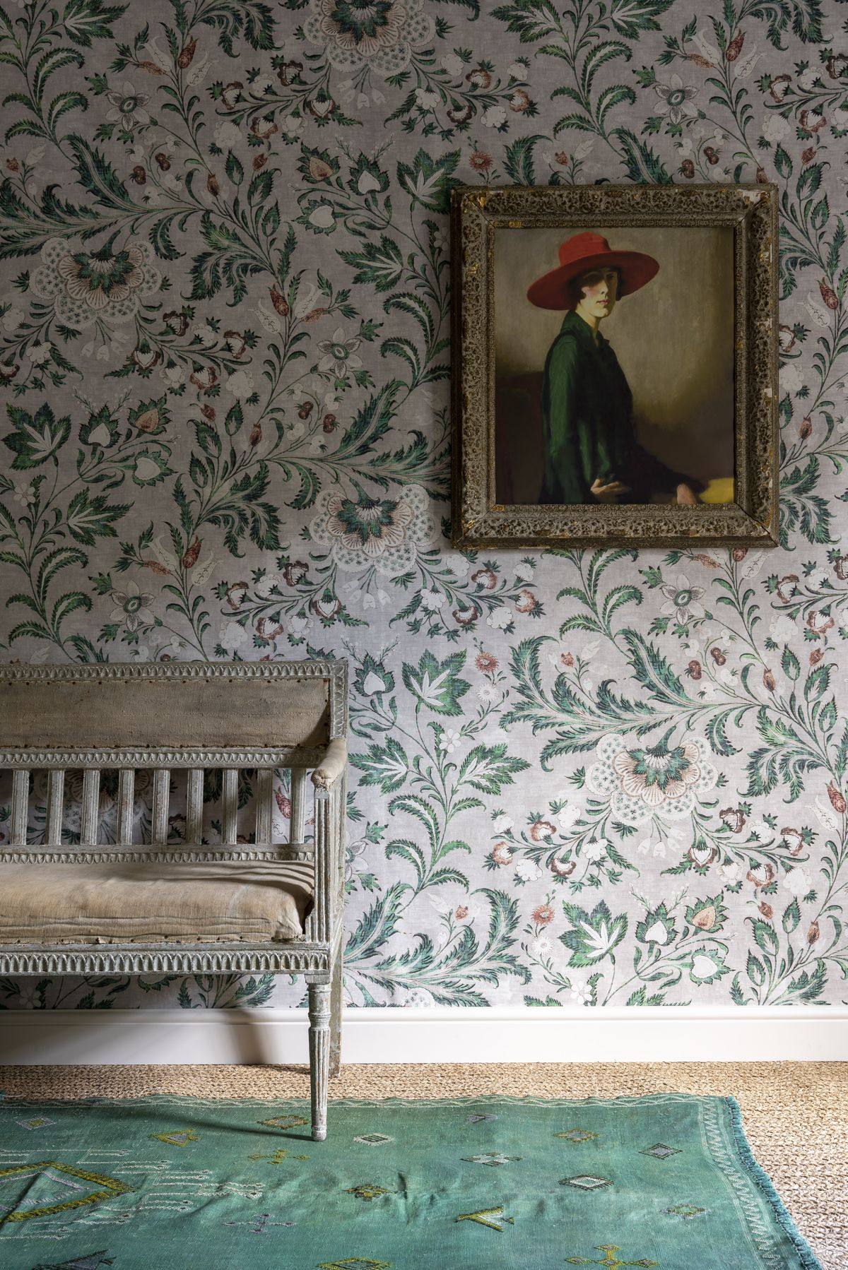 Floral Wallpapers 24 Ideas To Brighten Your Home Real Homes