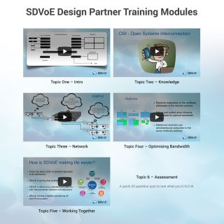 SDVoE Alliance Launches Partner Training, Certification Program