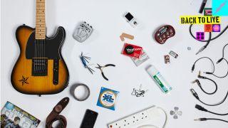 guitar gig kit list