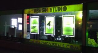 Blazing Visuals Sign Shop Transforms with Gefen-Supported Digital Flames